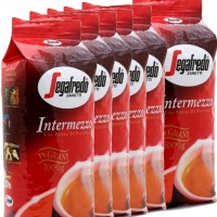 Káva Segafredo Intermezzo 6x 1kg, zrnková káva - VÝHODNÉ BALENÍ