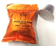 Kapsle Machiavelli pro Nespresso - 100% ARABICA