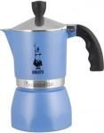 Kávovar Bialetti Fiammetta 3 Modrá