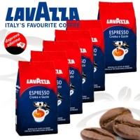 Lavazza Espresso Crema e Gusto 1 kg, zrnková káva 6x1kg